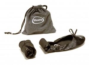 Ballerine appoint secours pliable enroulable shoette